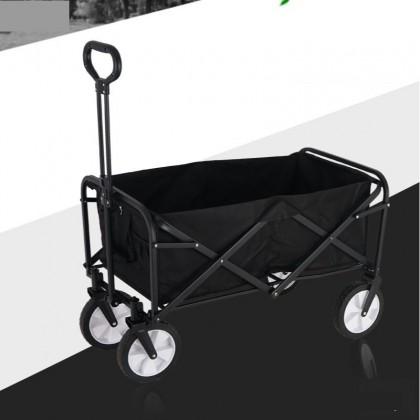 Picnic trolley picnic cart outdoor camping cart shopping cart shopping trolley shopping multi-functional folding fishing