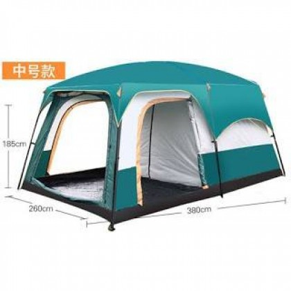 Outdoor camel two rooms one living room 6 people family tent